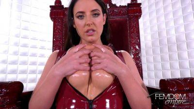 Femdom Empire – Angela White – Slave to Tits