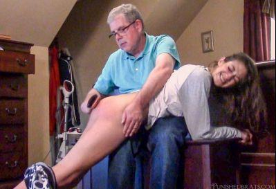 Punished Brats – Chloe's Bedtime Spanking Part 2 of 2