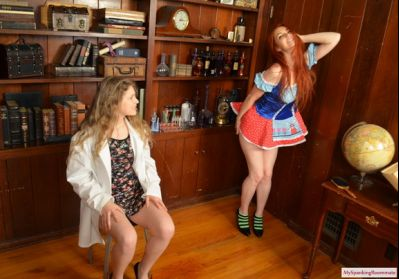 My Spanking Roommate – Episode 266: Apricot's Spanking Lab