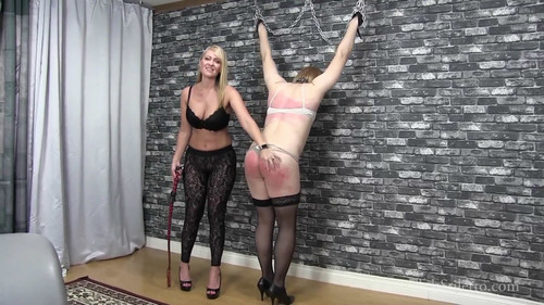 Mistress Kandy – Sweaty little slut flogged and ordered to eat ass