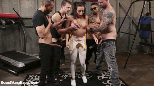 BOUND GANGBANGS: February 7, 2018 – Cyrus King , Whitney Wright , Eddie Jaye, Cody Steele , Rob Piper and Donny Sins
