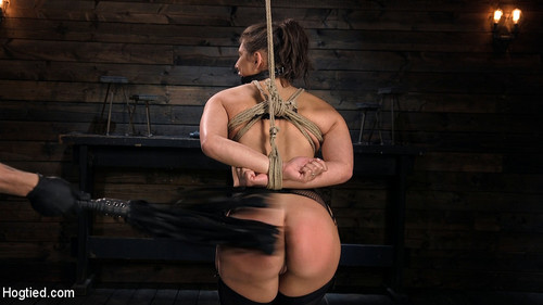 HOGTIED: February 1, 2018 – Abella Danger and The Pope