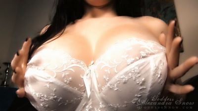 Goddess Alexandra Snow – Breast Smother Torment