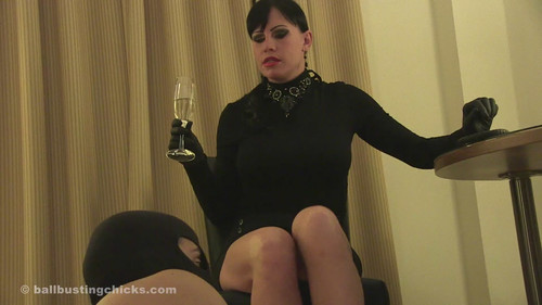 Ball Busting Chicks: Sidney: Victims of a drunk Mistress!