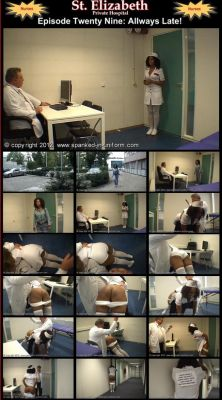 Spanked In Uniform – St. Elizabeth 29
