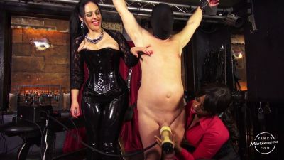 Kinky Mistresses – The Milking Machine – Used By 2 Ladies