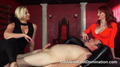 Goddess Foot Domination – Eager Fuck Slut
