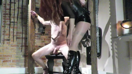 SLAVE AND NAIL DRESSAGE