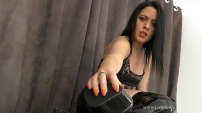 Clubstiletto – Lady Bellatrix – Lick My Skanky OTK Boots