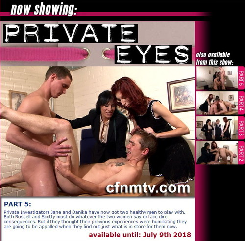 cfnmtv: Private Eyes (part 1-5)