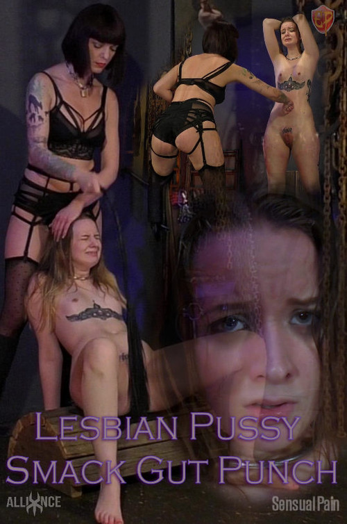 SENSUAL PAIN: May 13, 2018: Lesbian Pussy Smack Gut Punch | Jessica Kay