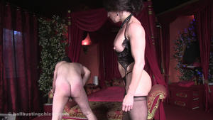 Ball Busting Chicks: Inessa: Don't Care – Just Kick Them!