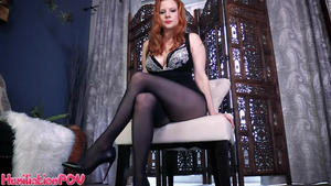 Humiliation POV Lady Fyre: You're A Loser For Legs, You Just Can't Help Yourself