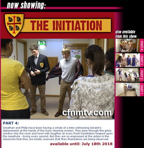 cfnmtv: The Initiation (part 1-4)