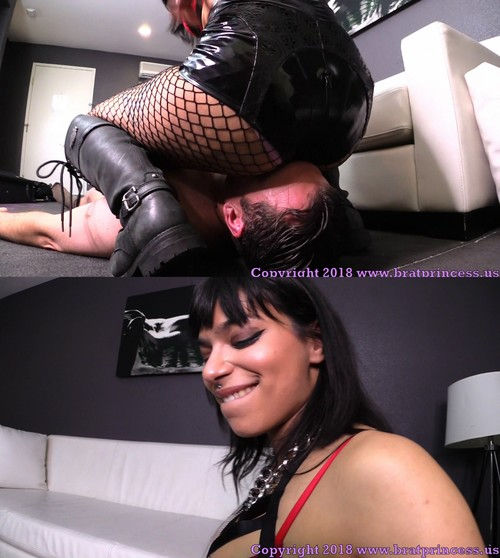 Brat Princess 2: Lady Toro – Trains Newly Locked slave to Become a Human Toilet with Facesitting