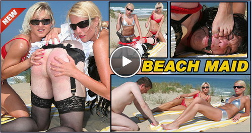 TheEnglishMansion: Lady Natalie Black & Mistress Vixen – Beach Maid (Part 4 of 4)