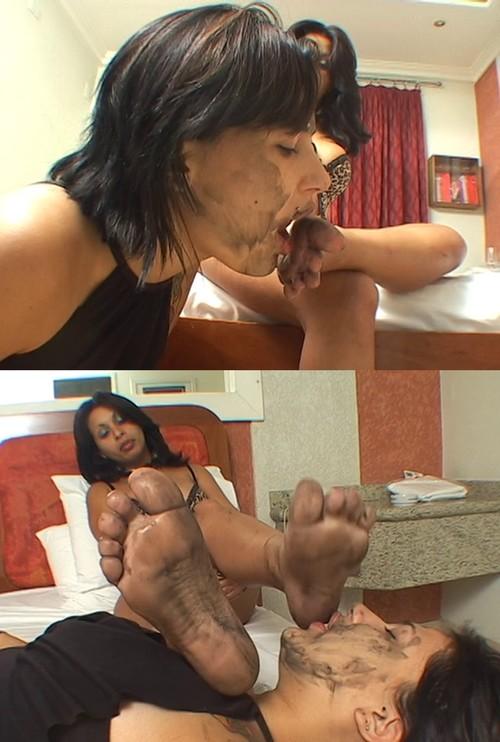 Dirty Feet By Grazi Di Fiori And Slave Viviane