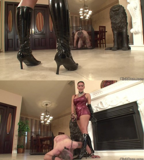 Clubdom: Megan get her Boots Worshiped