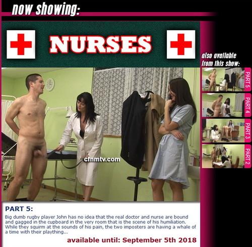 cfnmtv: Nurses (part 1-5)