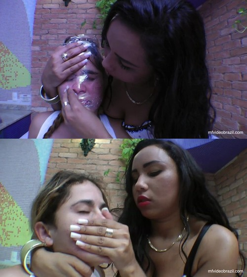 MARICELA: Mature Lesbians Kissing And Licking clip-21