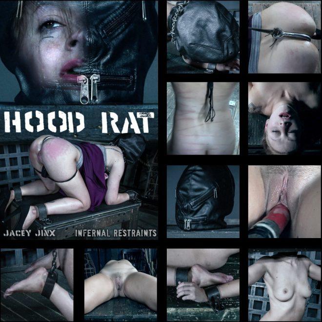 INFERNAL RESTRAINTS: Sep 28, 2018: Hood Rat | Jacey Jinx/Jacey tries out hoods.