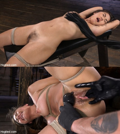 HOGTIED: August 30, 2018 – Kendra Spade/Sweet and Innocent Kendra Spade Gets Bound, Tormented, and Made to Cum