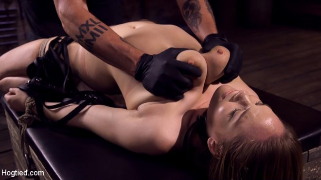HOGTIED: September 27, 2018 – Hadley Viscara/Making Bondage Dreams Cum True