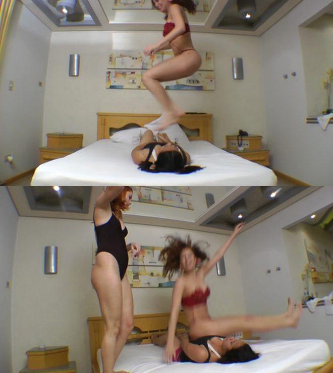 Mf Video Brazil: Butt Jump Double Cruel By Top Girls Mel Ronick Bruna Loren And Tammy