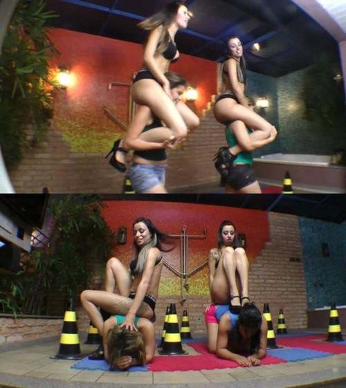 Mfvideobrazil: Pony Race Twins By Graziella Gueicha And Rafaella Gueicha