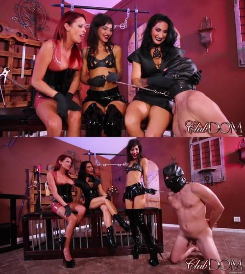 Club Dom: Raven and Bella Teach Kitty: Chindo