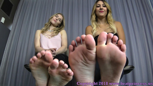 Brat Princess 2: Amber and Skykar POV – We Get What We Want with Our Feet and Our Looks (1080 HD)