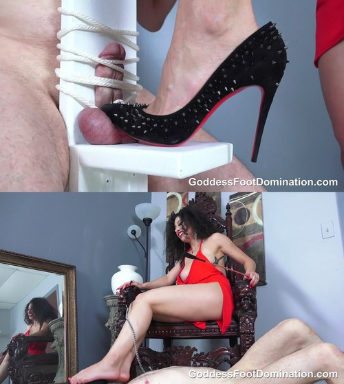 Goddess Foot Domination: Suffer to Earn the Privilege