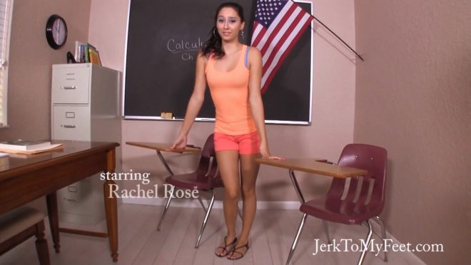 Jerk To My Feet: Offering her Feet to Professor