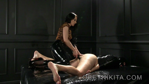 Mistress Nikita FemDom Videos: Wrapped Up and Fucked