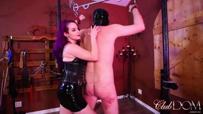 Club Dom: Goddess Valora Demands Obedience: Whipping