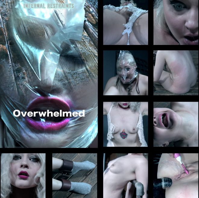 INFERNAL RESTRAINTS: Oct 19, 2018: Overwhelmed   Arielle Aquinas/Arielle is subjected to sensory overload.