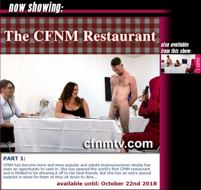 cfnmtv: The CFNM Restaurant (part 1)