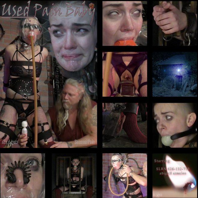 SENSUAL PAIN: Oct 24, 2018: Used Pain Baby slave abigail annalee | Abigail Annalee
