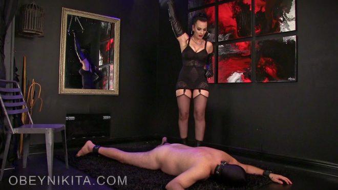 Mistress Nikita FemDom Videos: Heel Cushion