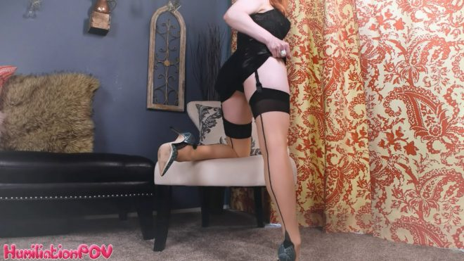 Humiliation POV Lady Fyre: You Can't Resist My Legs Idiot, You're Far Too Weak