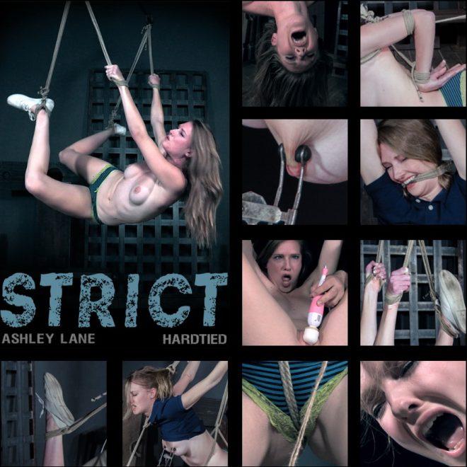 HARDTIED: Nov 14, 2018: Strict | Ashley Lane/Ashely endures painful predicament bondage.