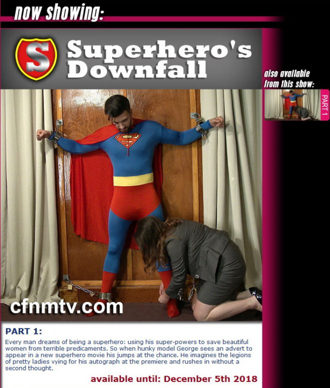 cfnmtv: Superhero's Downfall (part 1)