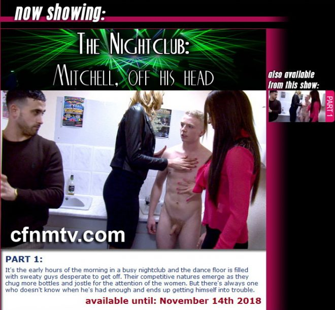 cfnmtv: The Night Club: Mitchell off his head! (part 1)
