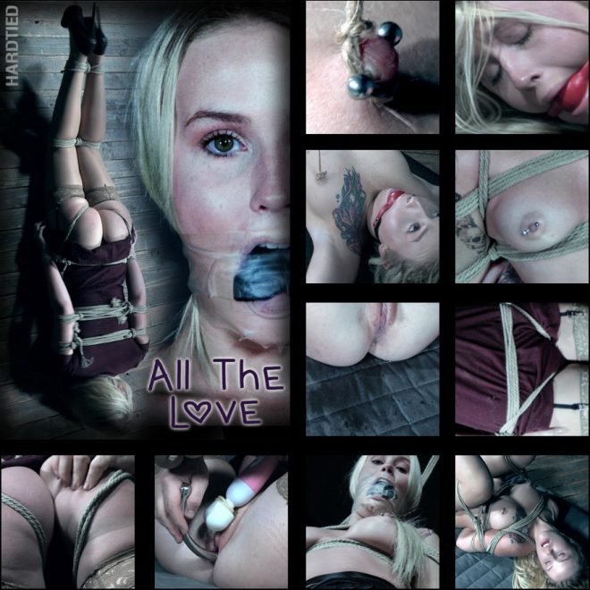 HARDTIED: Nov 28, 2018: All the Love | Layla Love/Layla love gets loved more than she can stand.