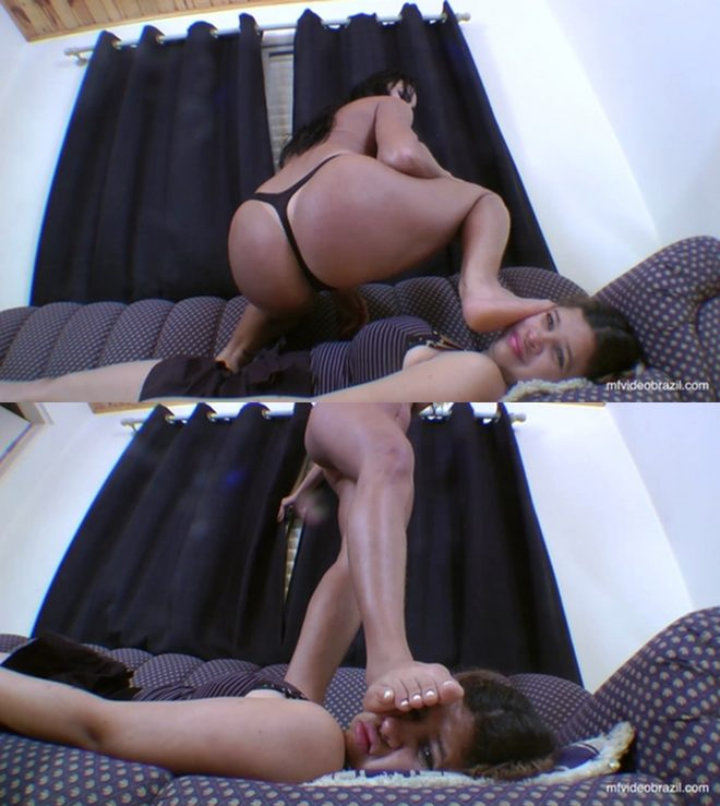 Mf Video Brazil: Tampling And Pee By Kyanna Andreatti And Ariel