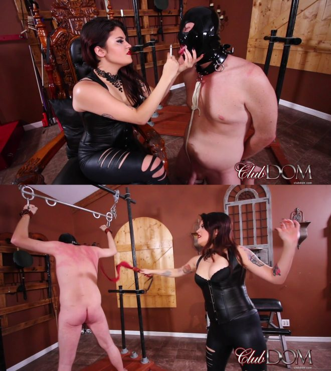 Club Dom: Miss Roper's Dungeon Slave: Whipped
