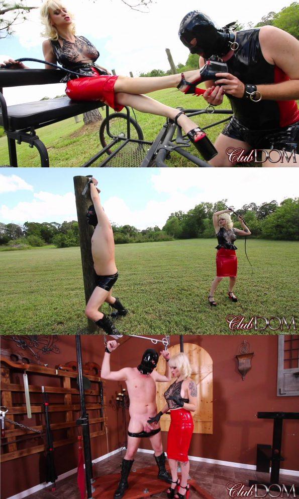 Club Dom/Cruel Unusual FemDom: Goddess Dahlia Trains the Pony slave (Full Movie)