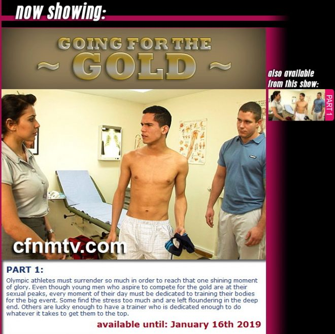 cfnmtv: Going for the Gold (part 1)