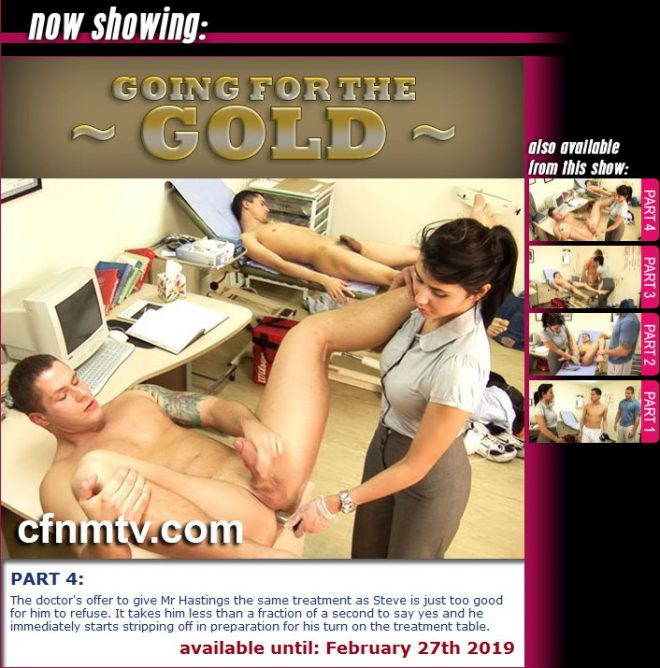 cfnmtv: Going for the Gold (part 1-4)