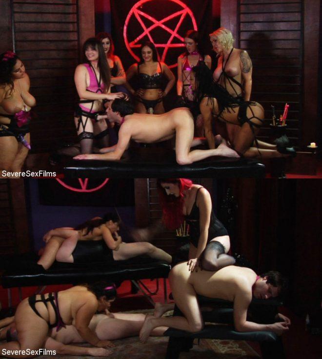 SEVERE SEX FILMS: Satanic Femdom Orgy